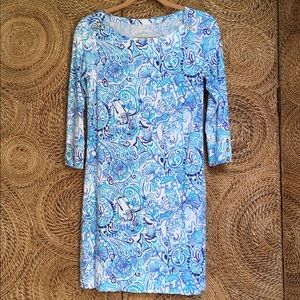 Lilly Pulitzer Dress Lucky Trunks Sophie Womens S